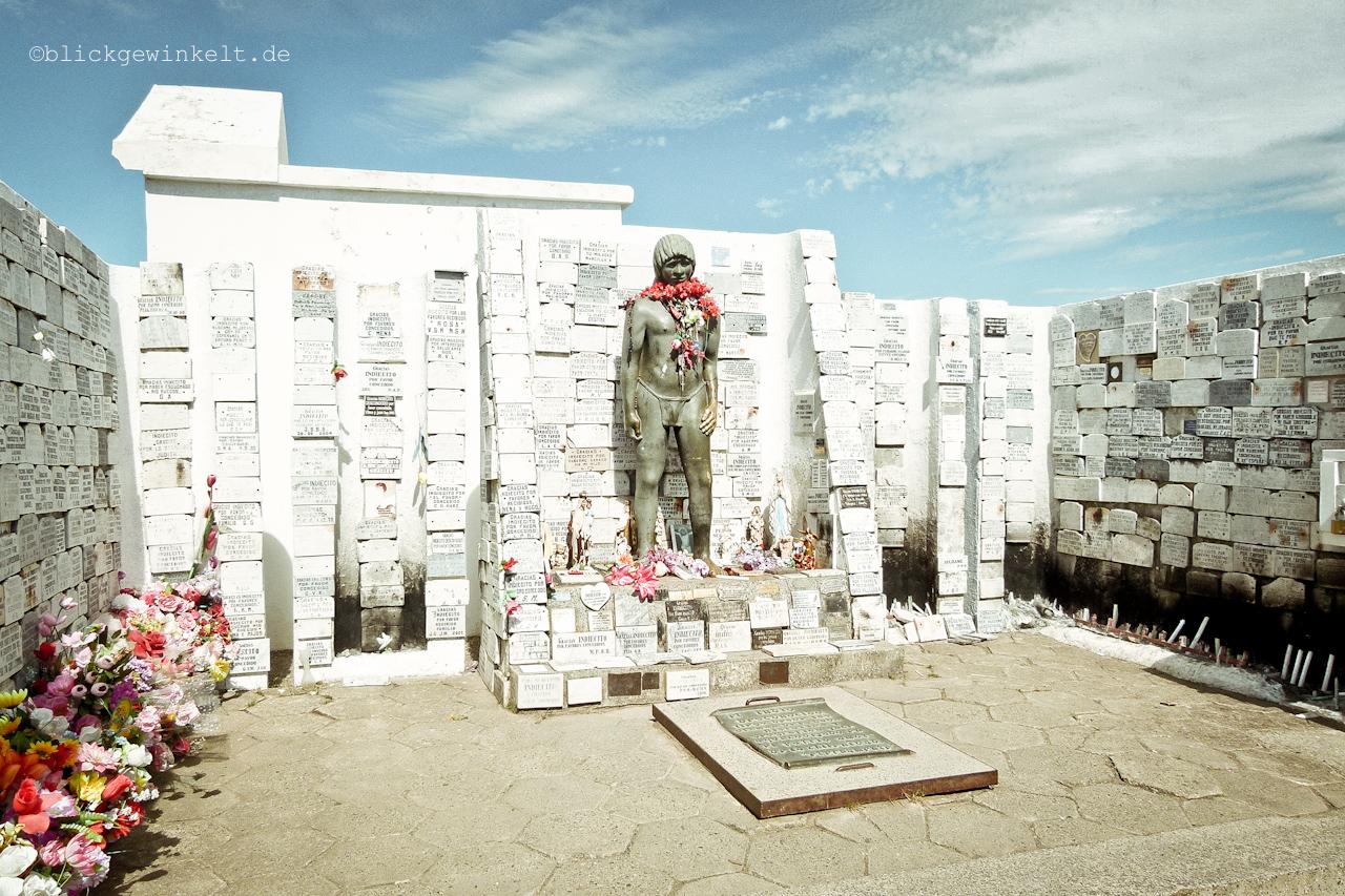 Denkmal des unbekannten Indianerjungen, Punta Arenas