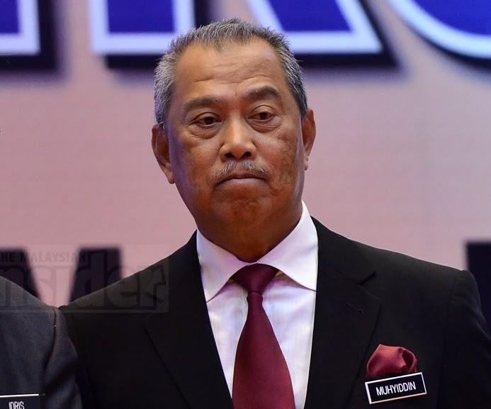 Deputy Prime Minister Tan Sri Muhyiddin Yassin