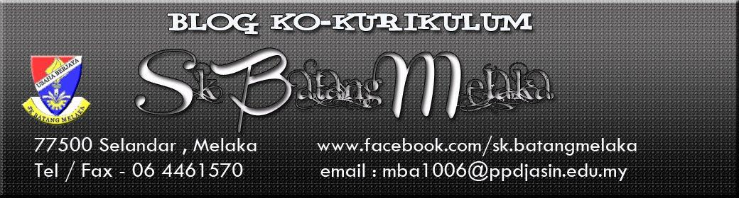 Ko-Kurikulum Sk Batang Melaka