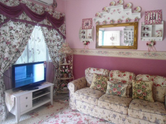 Ruang Tamu English Style