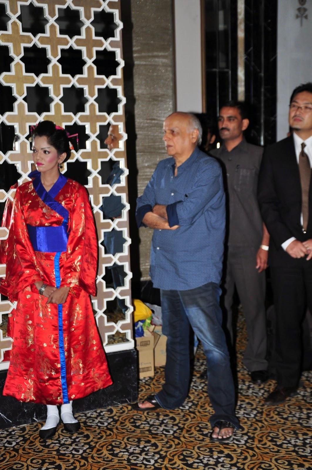 Mahesh Bhatt at 'Japan Film Festival 2014' announcement
