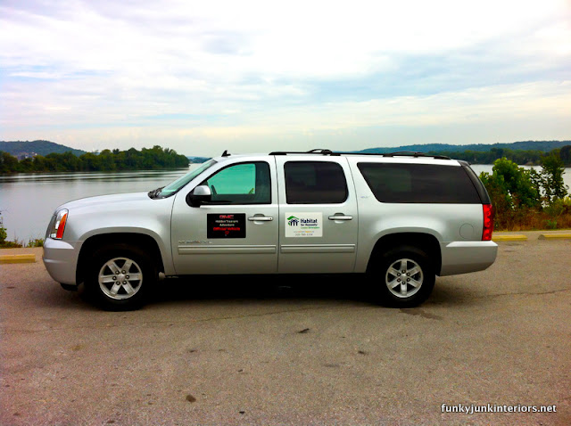 GMC Yukon XL during GMC Hidden Treasures road trip
