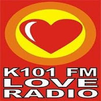 Love Radio Gensan DXWK 101.5 MHz logo