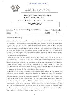Examen de passage TSP V1