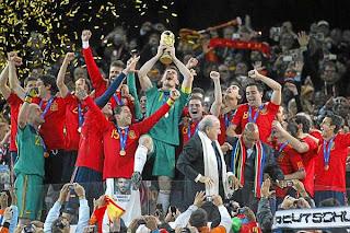 Primer Aniversario del titulo mundial de España