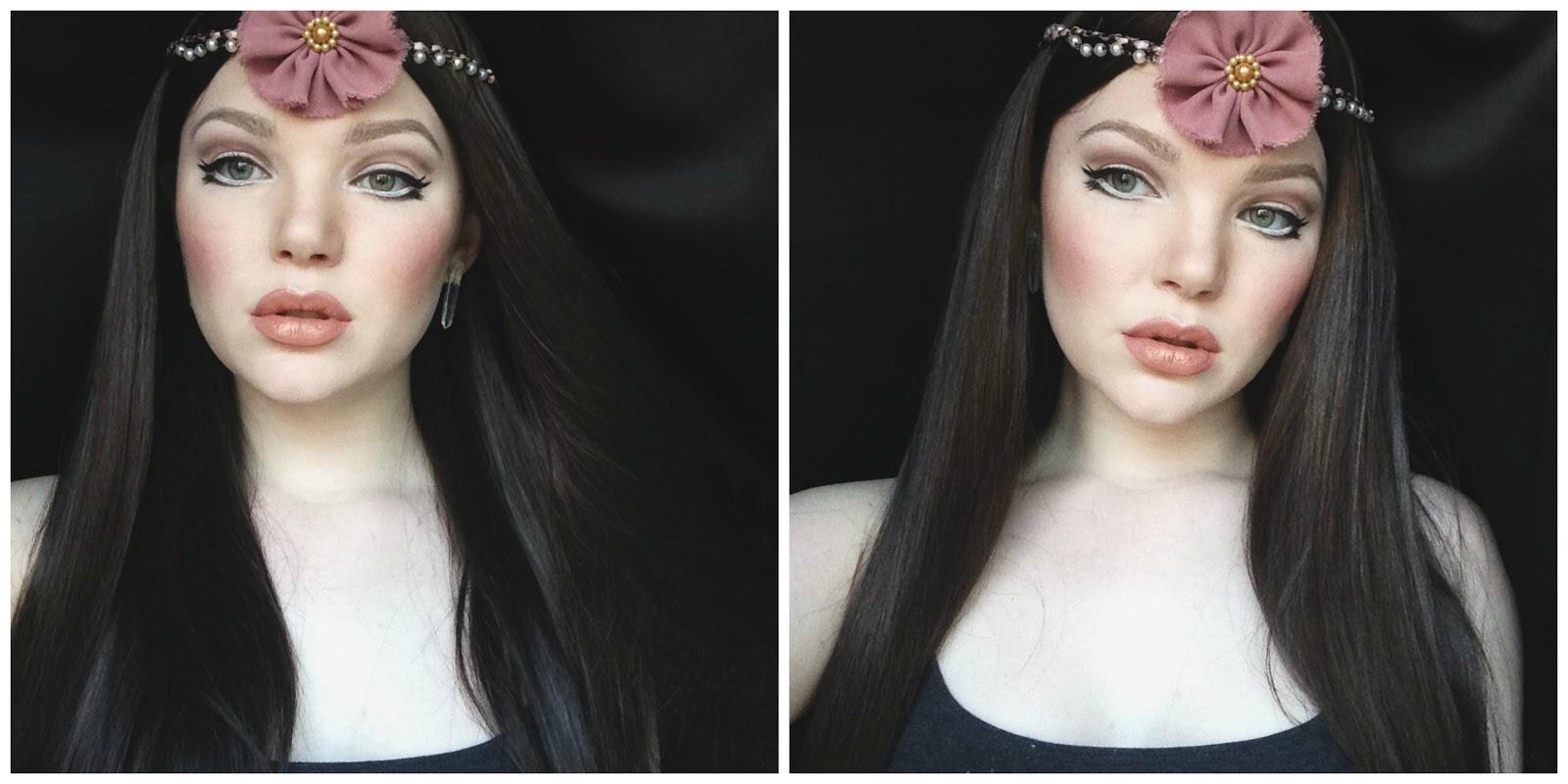 Как сделать макияж для глаз как у куклы