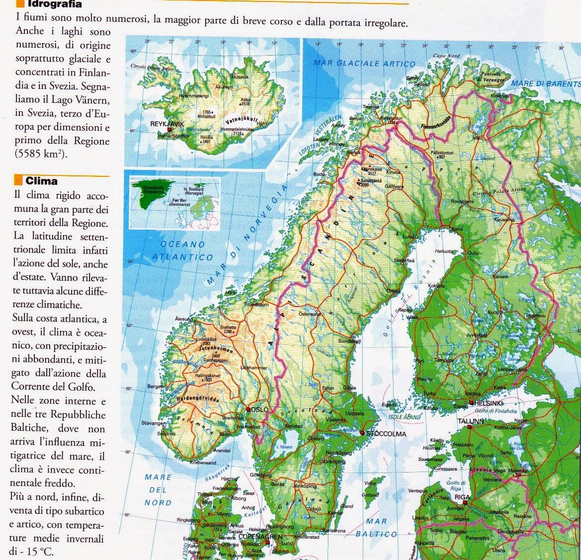 Classe 1a Cassandro 2013 2014 Regione Scandinava