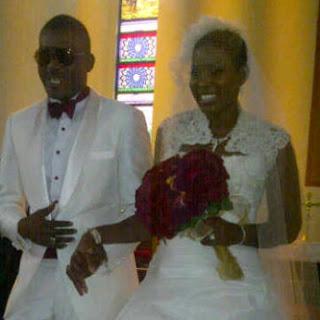 PICTURES Of  Chidi Mokeme's White Wedding. 2