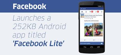 Aplikasi Facebook Lite, Ringan dan Irit Kuota