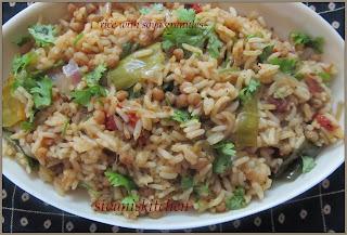 soya granules rice
