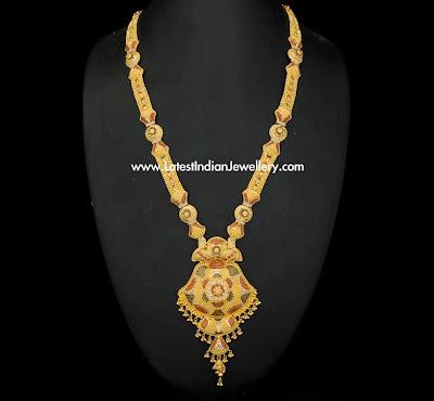 Culcutta design gold haram