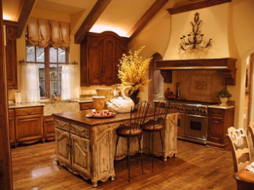 French Kitchen Cabinets