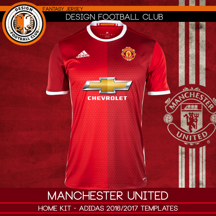 manchester united uniformes 2016
