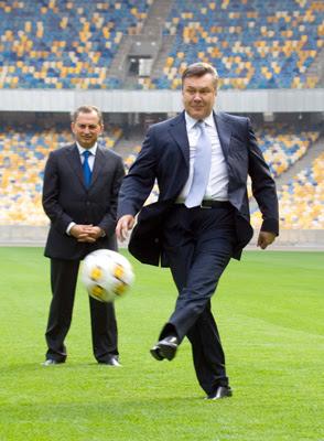 Фото Укринформ: Янукович