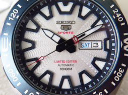 SEIKO 5 SPORTS MOUNTAIN FUJI AS A WORLD HERITAGE - SEIKO SRP783 - AUTOMATIC 4R36 - LIMITED EDITION