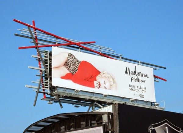Madonna Rebel Heart album billboard