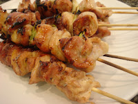 Japanese Menu Yakitori