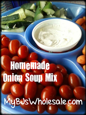Homemade Onion Soup Mix (For Dip)