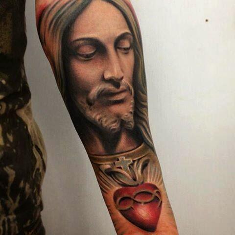 tatuajes jesucristo