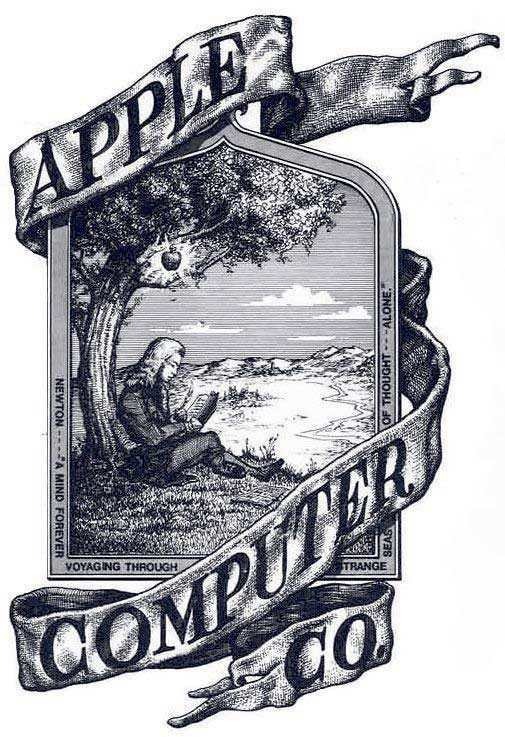 1st apple company logo