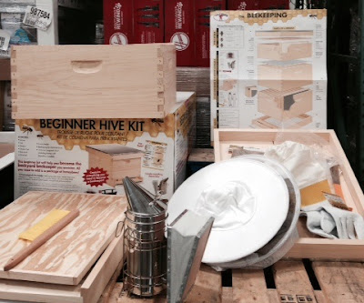 Farm to table now has a new meaning with the Miller Manufacturing Little Giant Hive10kit Beginner Beehive Kit