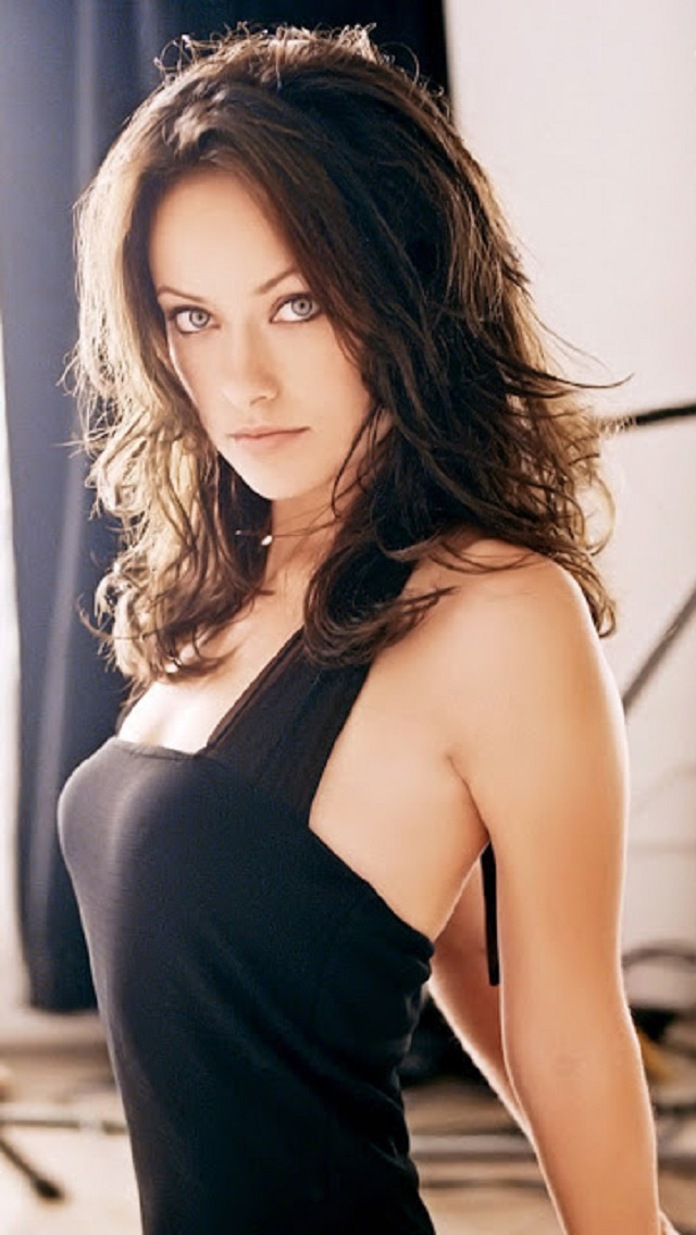 Olivia Wilde Sexy Celebrity iPhone 5 wallpaper 2013