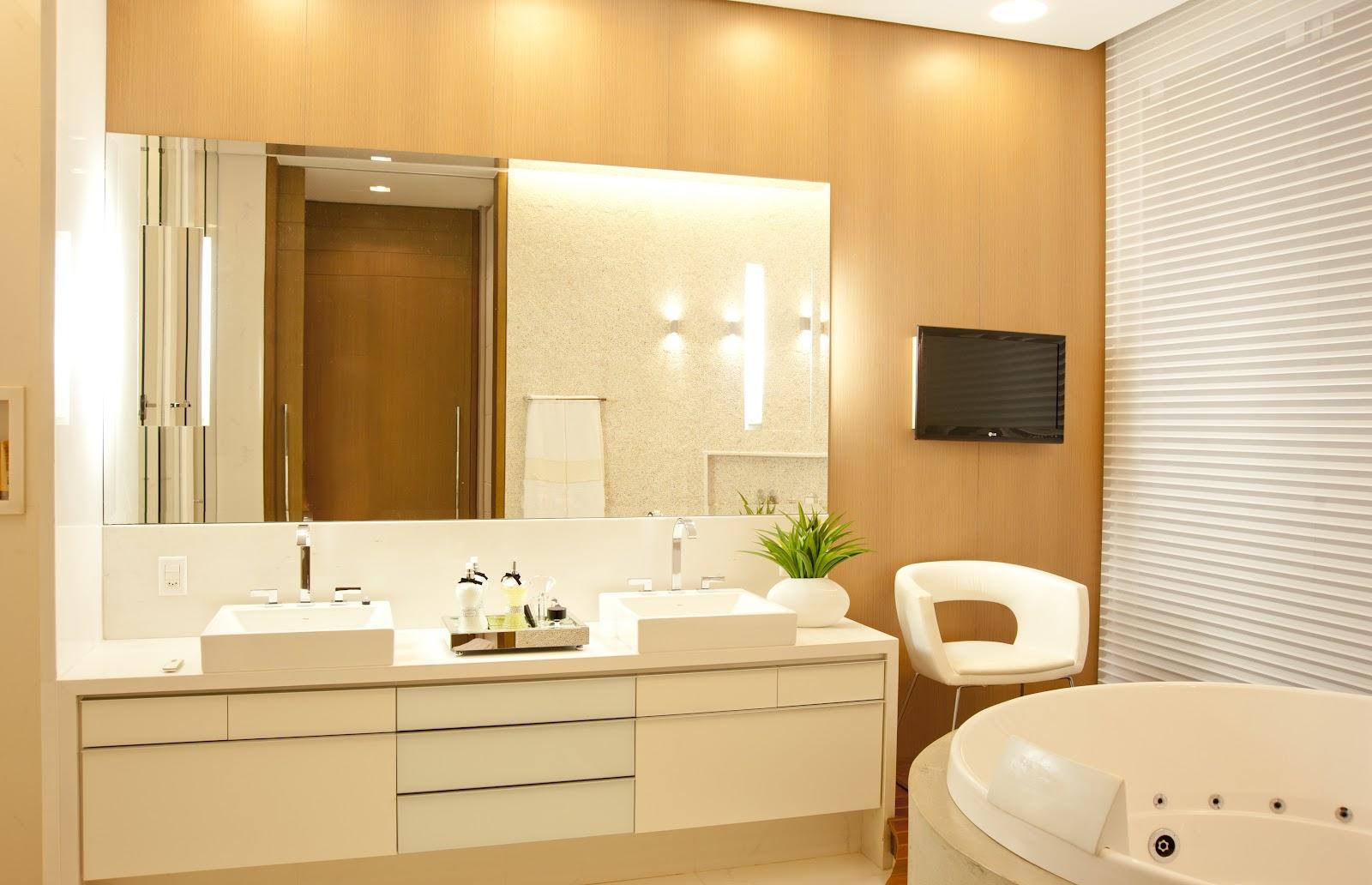Uma casa perfeita Blog Home Idea #516005 1600x1032 Banheiro De Casal Com Banheira