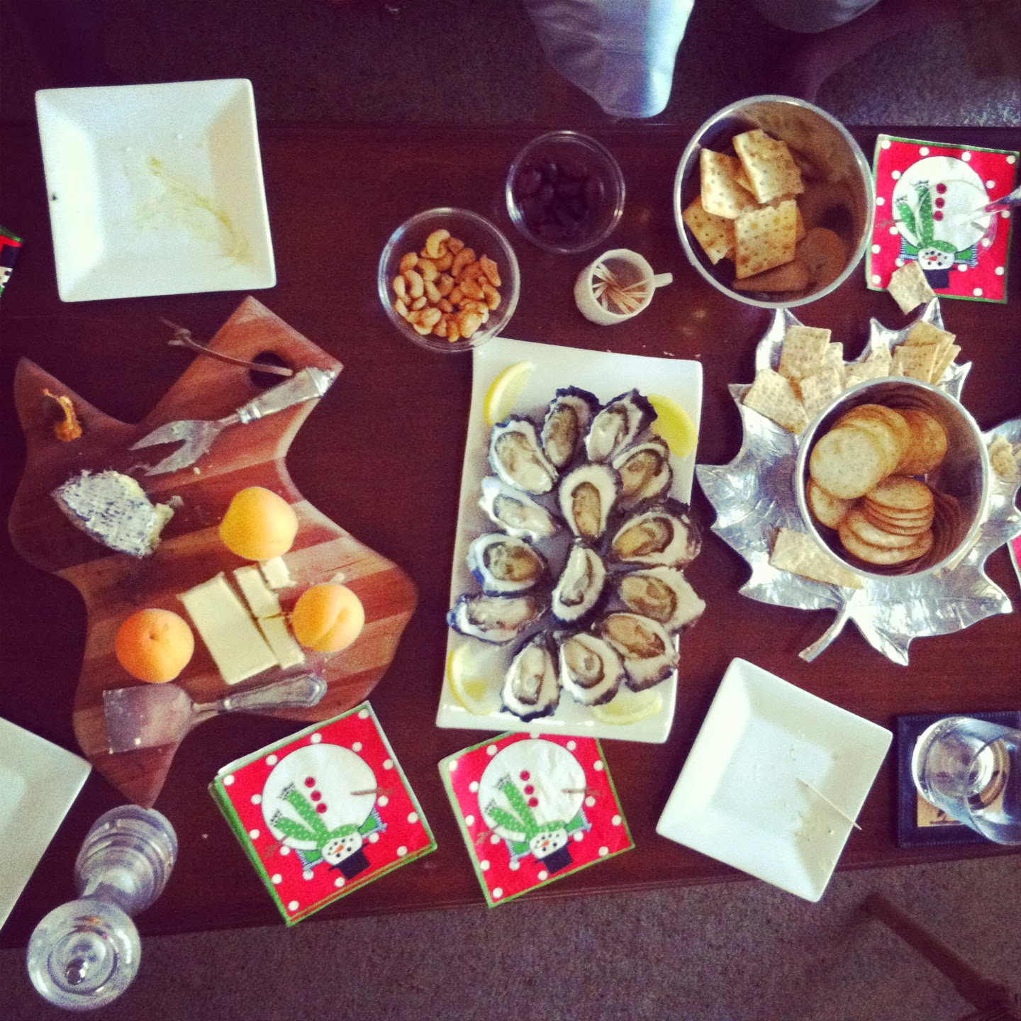 summer Christmas pre-dinner spread in Sydney @ Southern Spoon blog