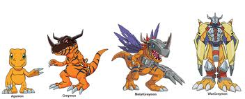 digimon evolution agumon - photo #26