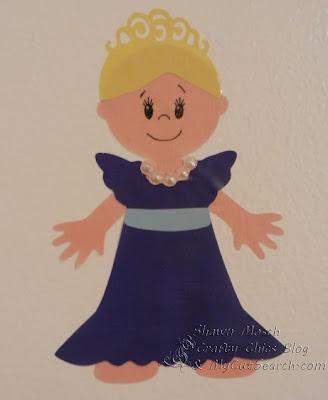 vinyl paper doll
