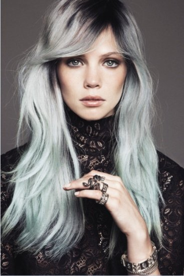 Fashionable New Hairstyles For Silver Grey Hair 2015 Haircuts