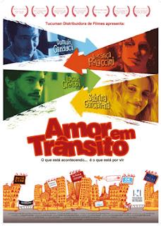 """Poster do filme """"Amor em Trânsito"""""""