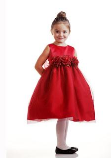Contoh Dress Natal Yang Cantik Untuk AnakPerempuan