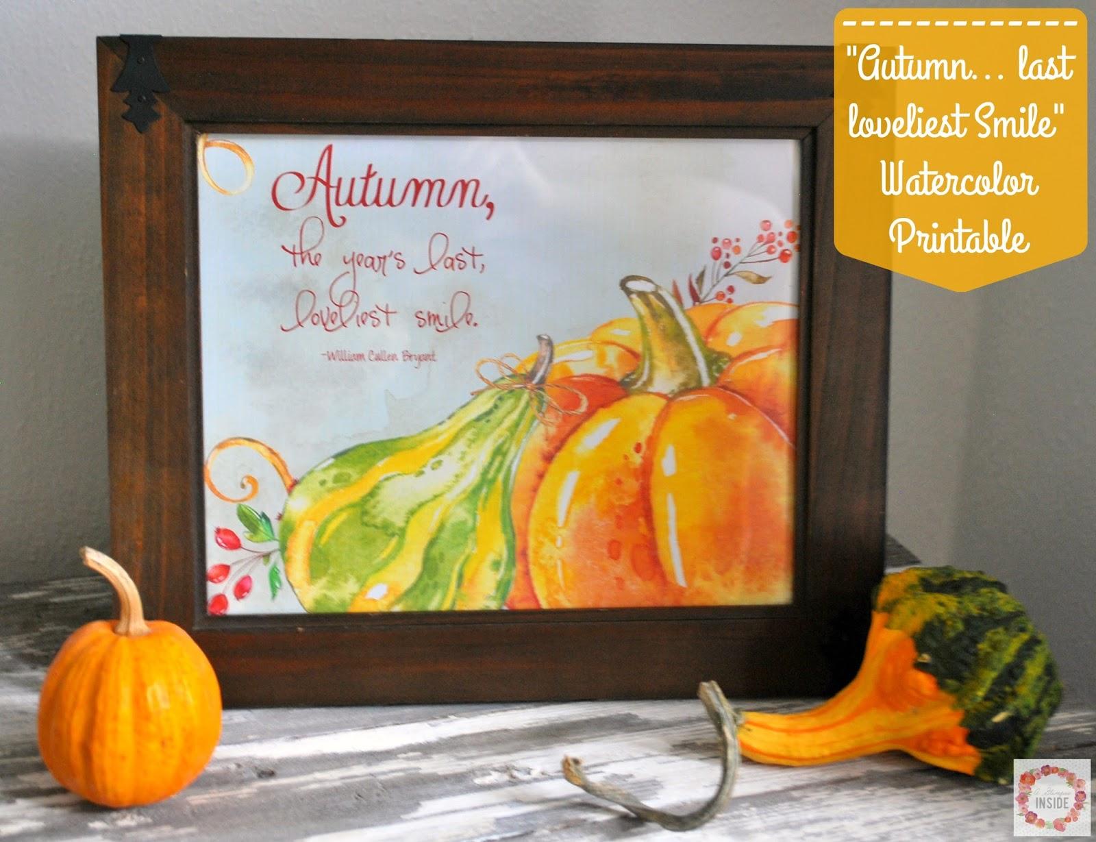 http://www.aglimpseinsideblog.com/2015/10/autumn-last-loveliest-smile-watercolor.html