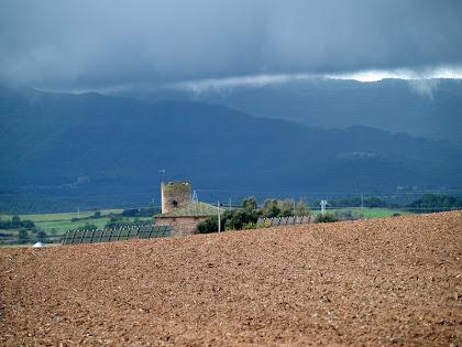 La Torre Segimona des del Collet de la Forca