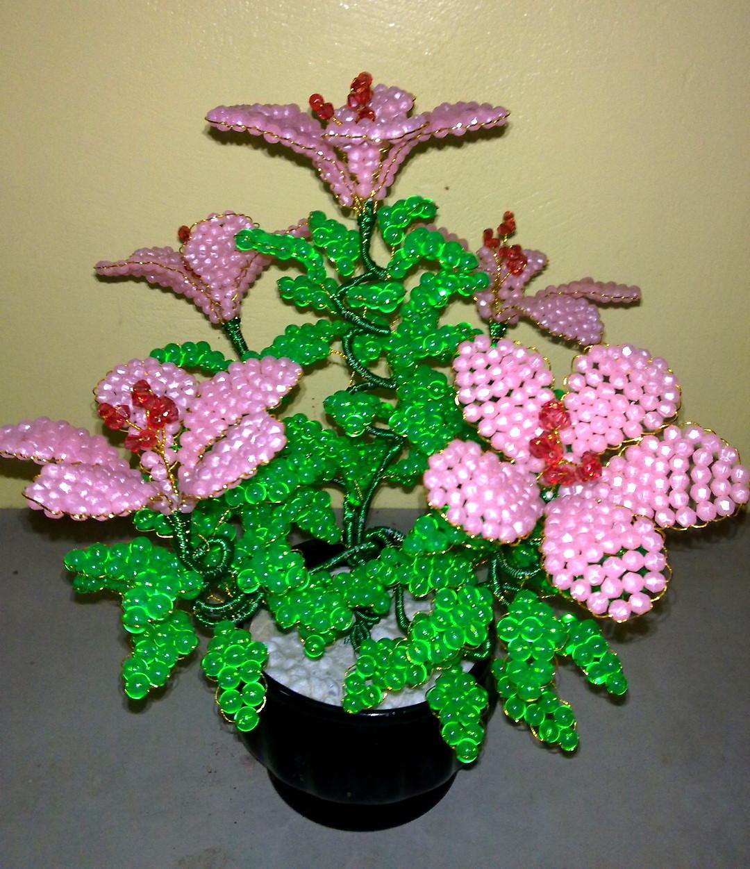 gubahan bunga kristalby hikayatcinta bunga melor bml rm decor photo