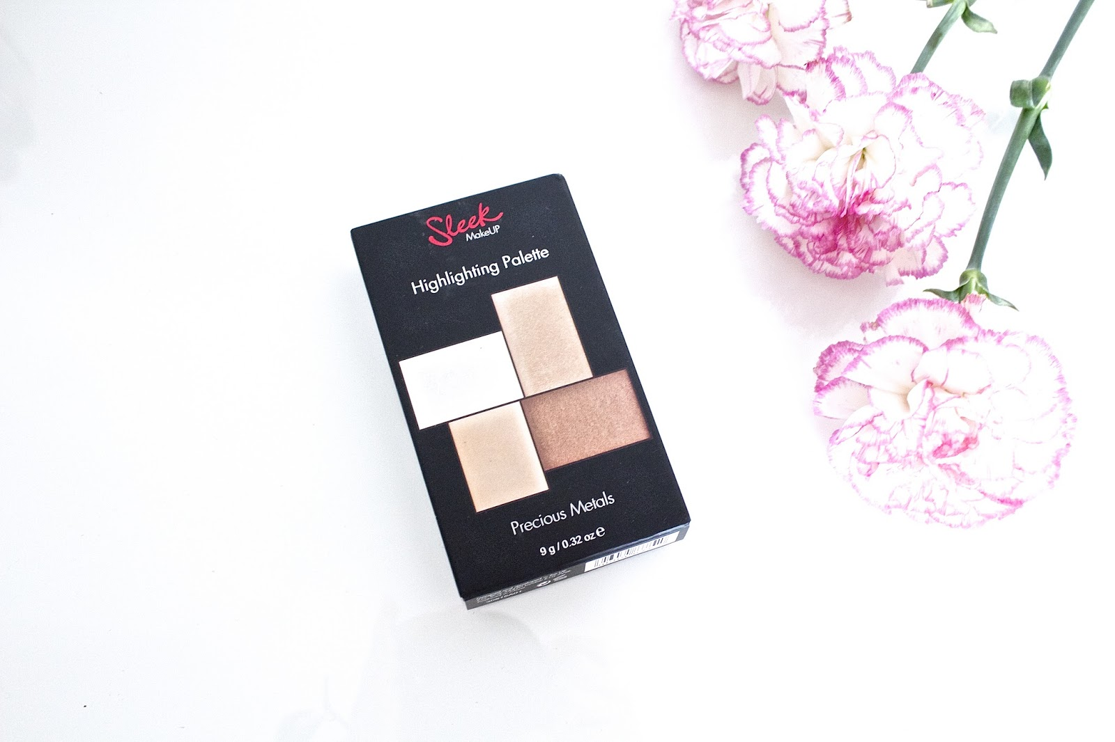 A review of Sleek Makeup Highlighting Palette Precious Metals