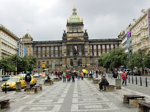 Wenzelplatz in Prag/ Tschechische Republik