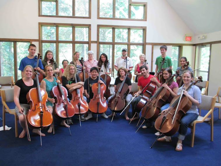 CelloChanWoods ensemble 2012