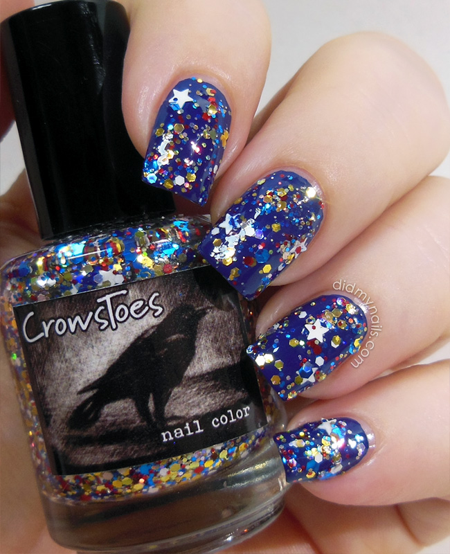 CrowsToes My Favorite Amazon swatch