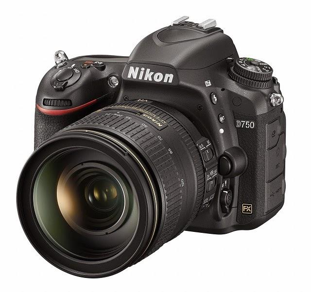 Fotografia della Nikon D750