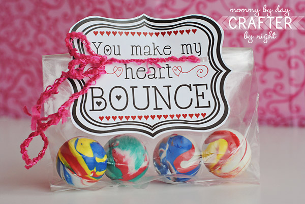 Valentine's Bouncy Ball