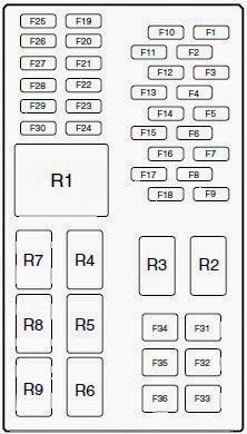 f1 cars & fuses 2013 ford fiesta fuses 2012 ford fiesta fuse box diagram at bayanpartner.co