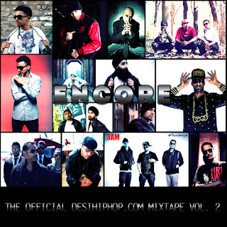 ENCORE - The Official Desihiphop.com Mixtape Vol. 2 free download desi hip hop music
