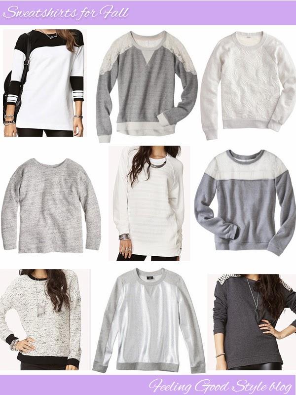 Target sweatshirt, J.Crew sweatshirt, Forever 21 sweatshirt, sweatshirts