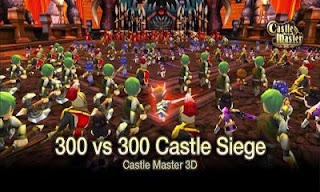 Screenshots of the Castle Master 3D for Android tablet, phone.