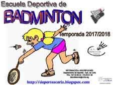 ESCUELA DE BÁDMINTON