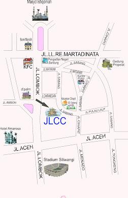 Peta Lokasi JLCC