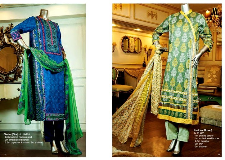 Junaid Jamshed Eid Collection 2014