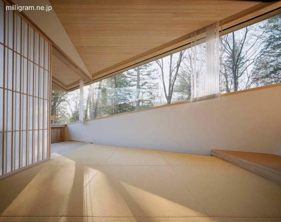 Arquitectura de casas moderna villa japonesa con dise o for Casa moderna japonesa